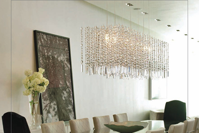 Custom Crystal Chandelier / NYC